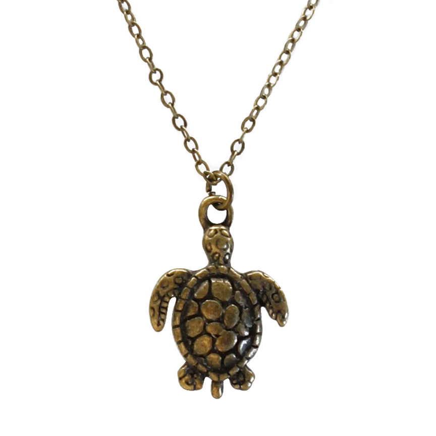 Travel light and journey far - while cautious, the turtle is no stranger to adventure. Take this tiny charm necklace with you everywhere! Beach Life Charm Necklaces are the perfect summer accessory for those long afternoons on the beach with your friends! O Yeah!