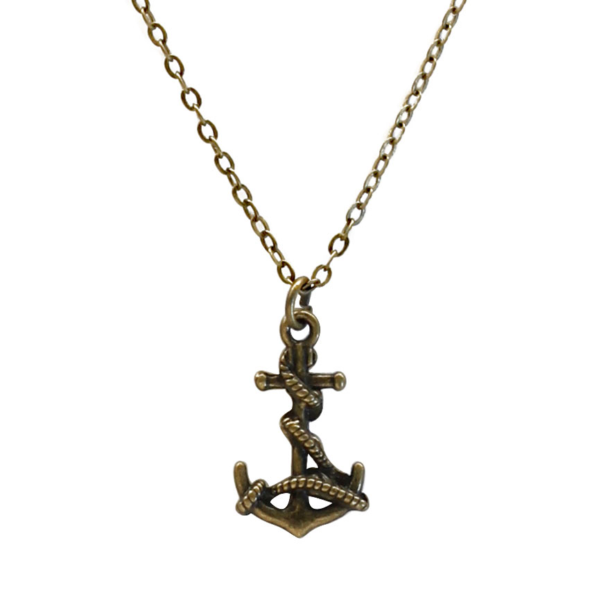 Steadfast and true even in the strongest storm, the anchor charm necklace carries a strong will and deep determination. Beach Life Charm Necklaces are the perfect summer accessory for those long afternoons on the beach with your friends! O Yeah!