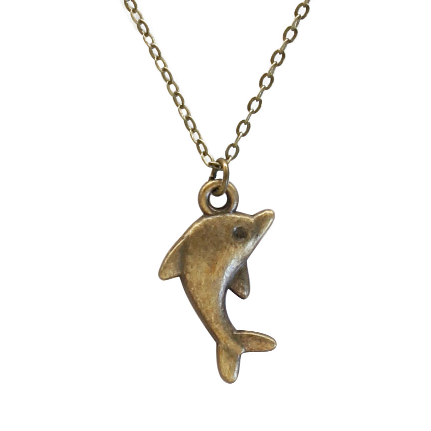 Like a dolphin in the sea set your playfulness free with this dolphin charm necklace. The ocean adventurer knows how to have fun! Beach Life Charm Necklaces are the perfect summer accessory for those long afternoons on the beach with your friends! O Yeah!