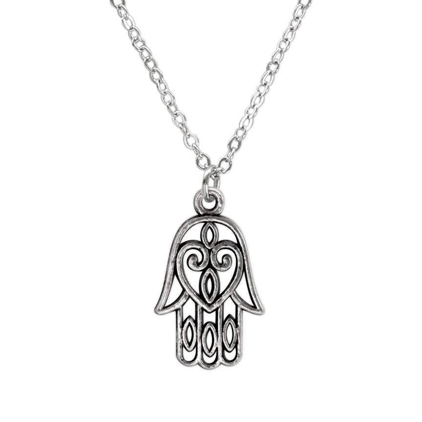 I will be your protection - this righteous Hamsa hand is a spiritual symbol of heath and happiness! Beach Life Charm Necklaces are the perfect summer accessory for those long afternoons on the beach with your friends! O Yeah!
