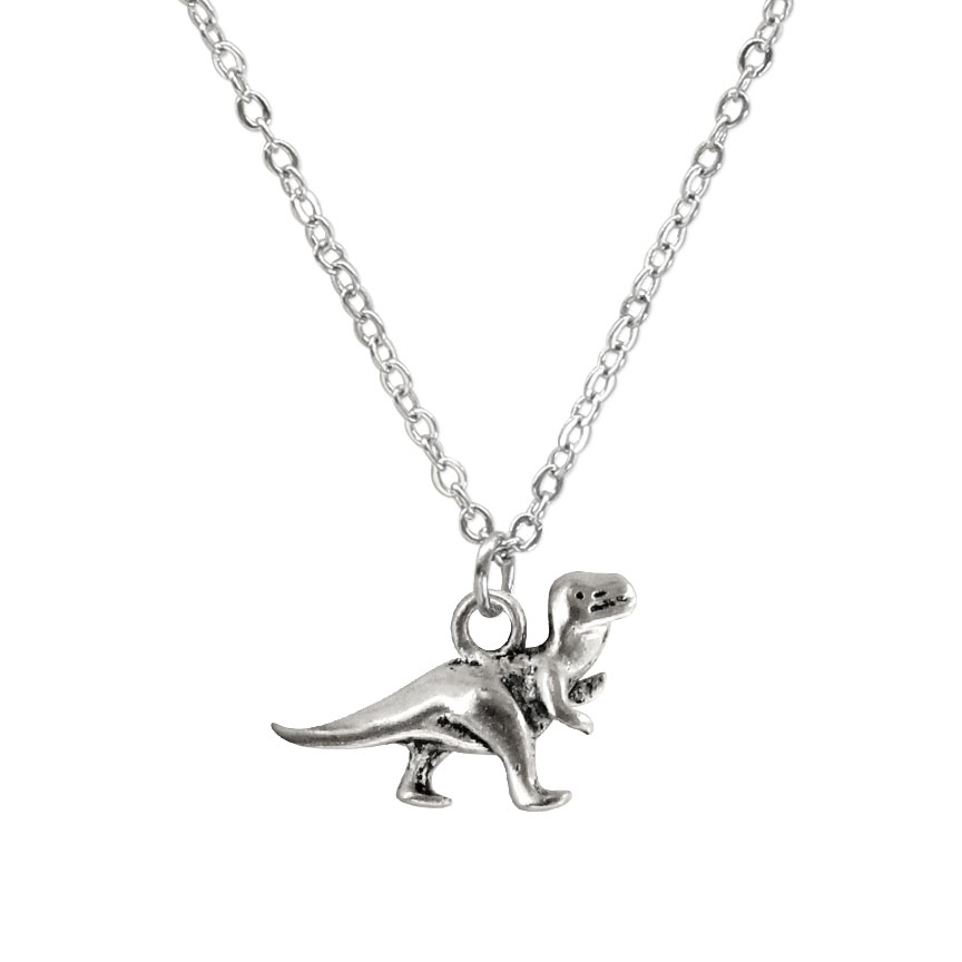 Incredible creatures of the past, wear the silver dinosaur charm necklace and celebrate when lizard kings ruled the earth. Beach Life Charm Necklaces are the perfect summer accessory for those long afternoons on the beach with your friends! O Yeah!