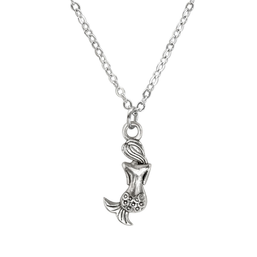 You're a beach goddess; there is more to you than meets the eye! Rule the underwater kingdom with a fierce and fearless mermaid charm necklace. Beach Life Charm Necklaces are the perfect summer accessory for those long afternoons on the beach with your friends! O Yeah!