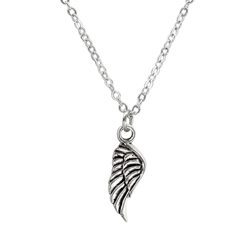 I'll fly away - An angel wing charm necklace will carry you to freedom, to peace and to higher ground! Beach Life Charm Necklaces are the perfect summer accessory for those long afternoons on the beach with your friends! O Yeah!