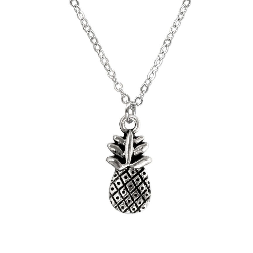 Keeping it fresh and sweet with a bold and bright pineapple charm Beach Life Charm Necklaces are the perfect summer accessory for those long afternoons on the beach with your friends! O Yeah!