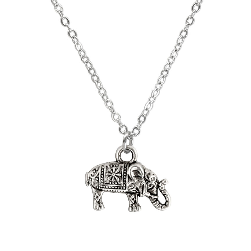 Never forget where you've been and march on to the newest adventure. Let the elephant charm necklace lead the charge! Beach Life Charm Necklaces are the perfect summer accessory for those long afternoons on the beach with your friends! O Yeah!