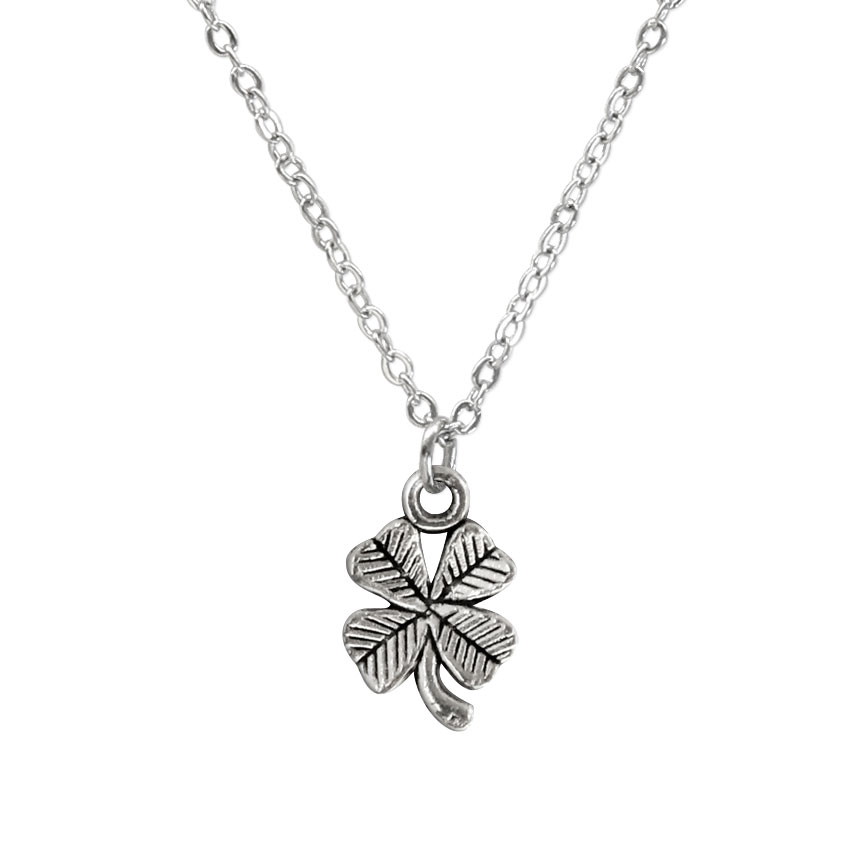 Let a little bit o' luck come your way with the Clover Charm Necklace! The Four-leaf clover charm represents nature's good fortune. Beach Life Charm Necklaces are the perfect summer accessory for those long afternoons on the beach with your friends! O Yeah!