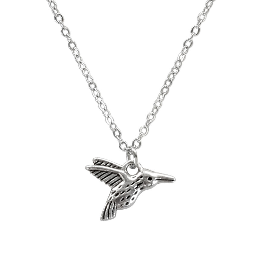 Take time to smell the flowers like the dainty and carefree hummingbird! Beach Life Charm Necklaces are the perfect summer accessory for those long afternoons on the beach with your friends! O Yeah!