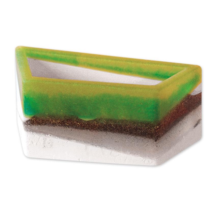 Green Flower Bed Planter - Medium