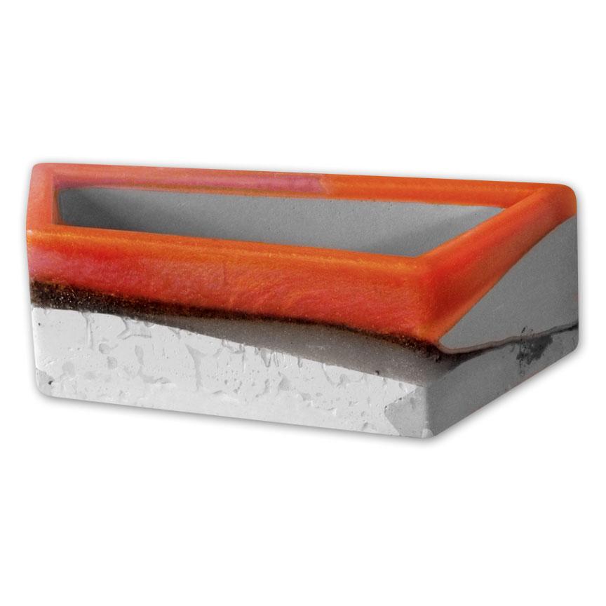 Orange Flower Bed Planter - Large