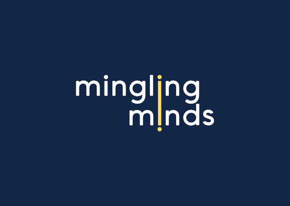 New Method: Mingling Minds - Perth based clinical hypnosis clinic logo blue