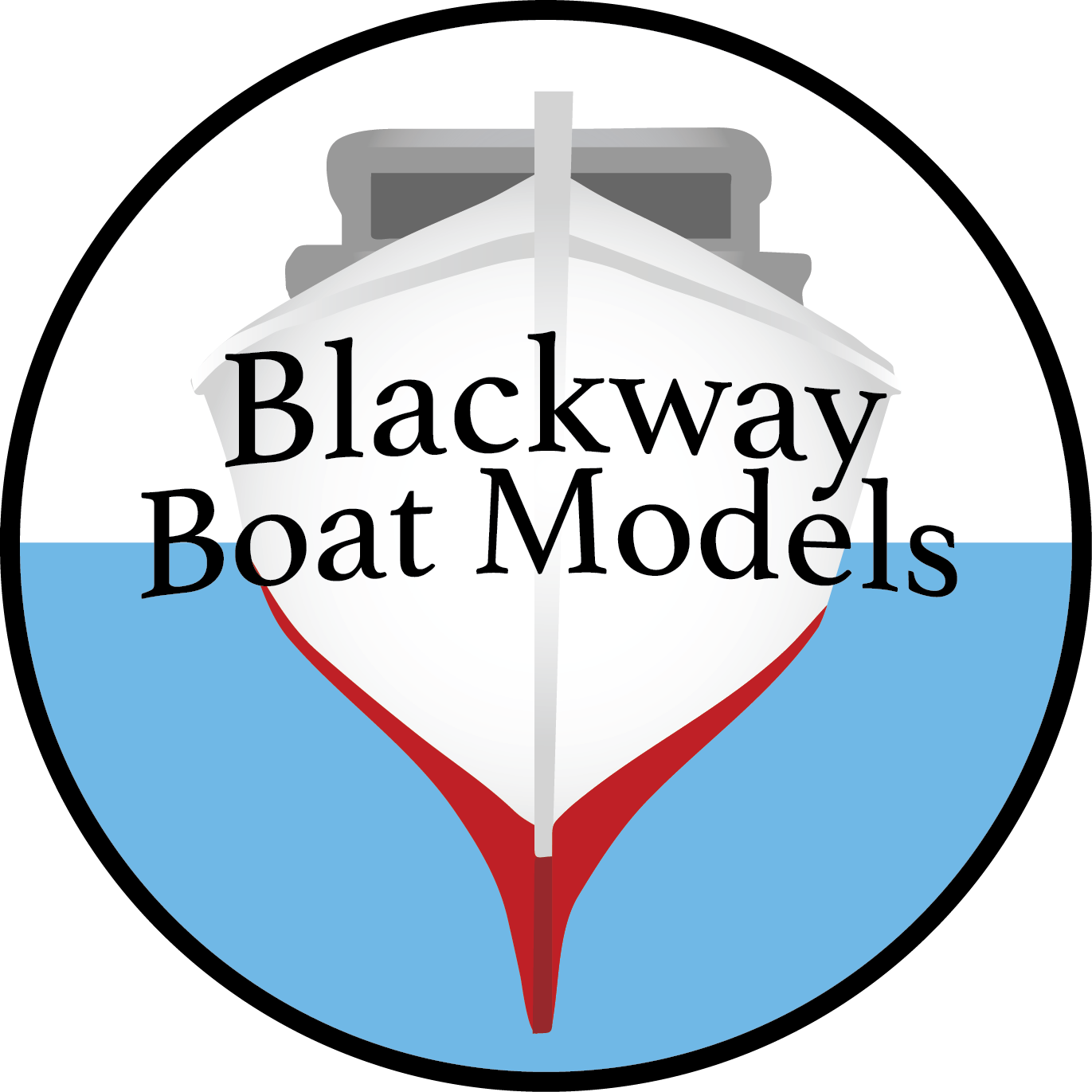 Blackway Boat Model Logo