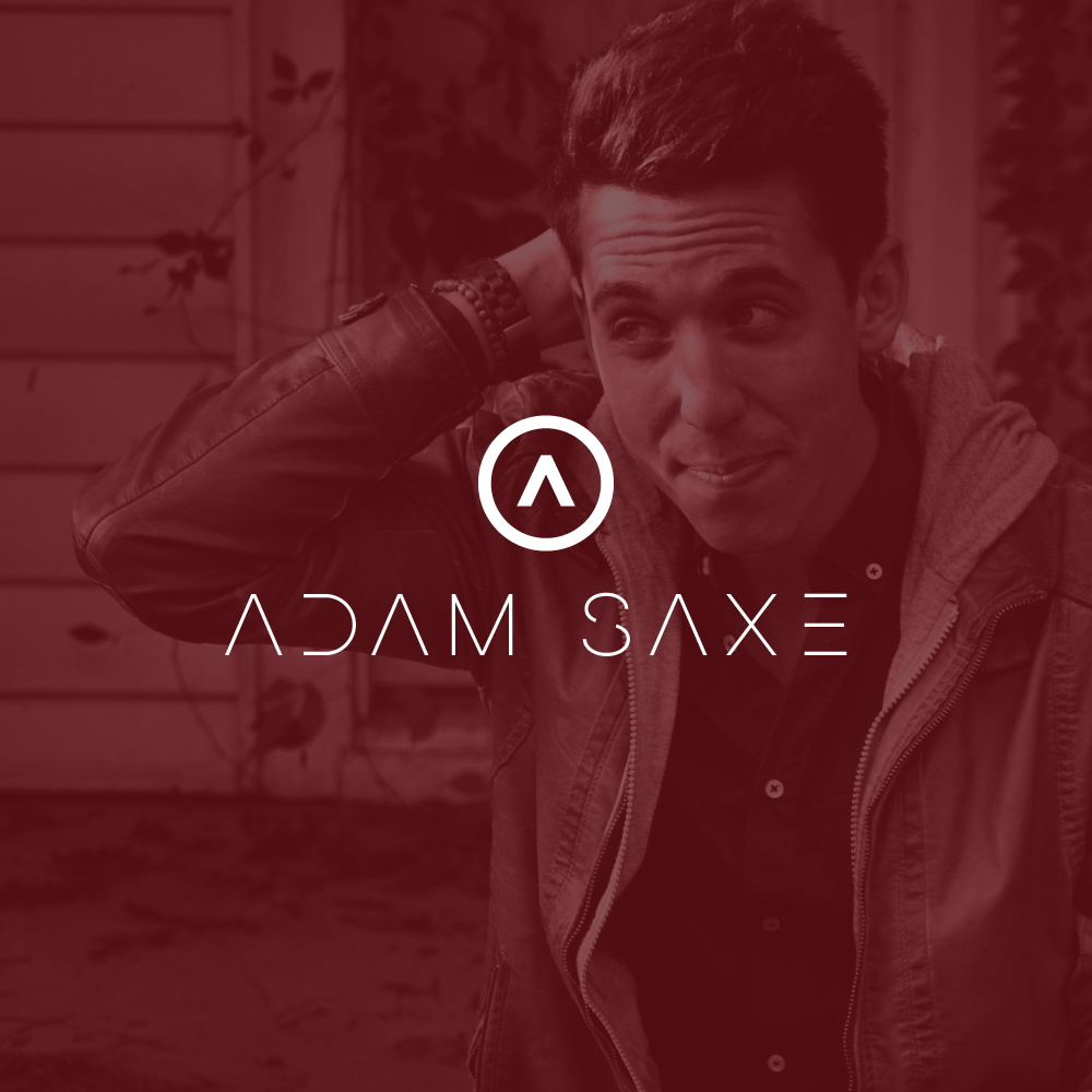 Adam Saxe Nashville Recording Artist Logo Design K. Karnes Designs