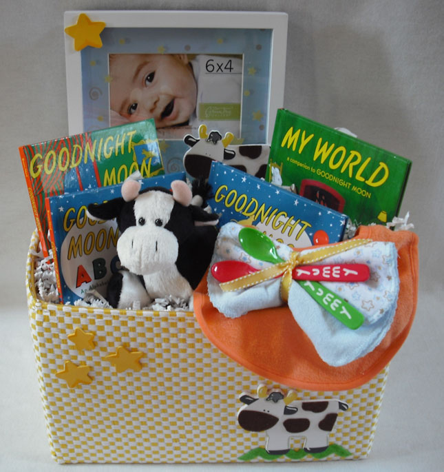 Baby Gifts, Unisex Baby Gifts, Goodnight Moon, Cows, Classic Childrens Books, goodnight moon book,