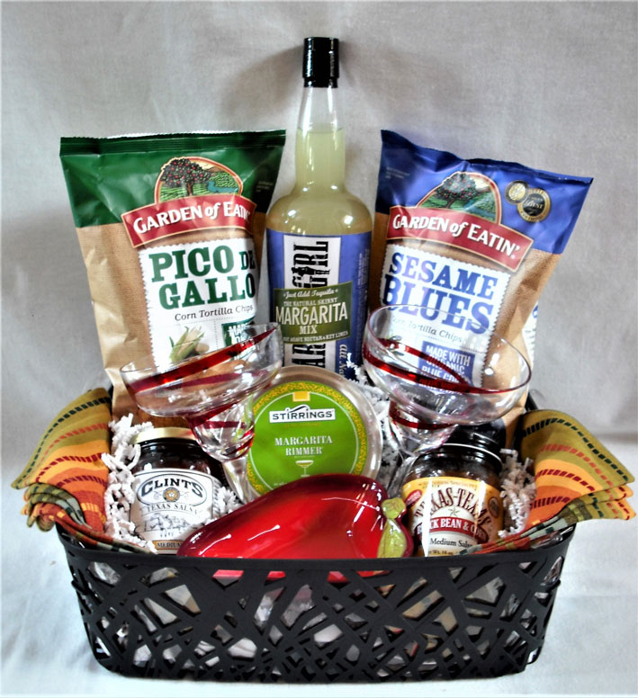 Margarita Gift Basket, Margarita Gift Set, Margarita Entertaining Gift Basket