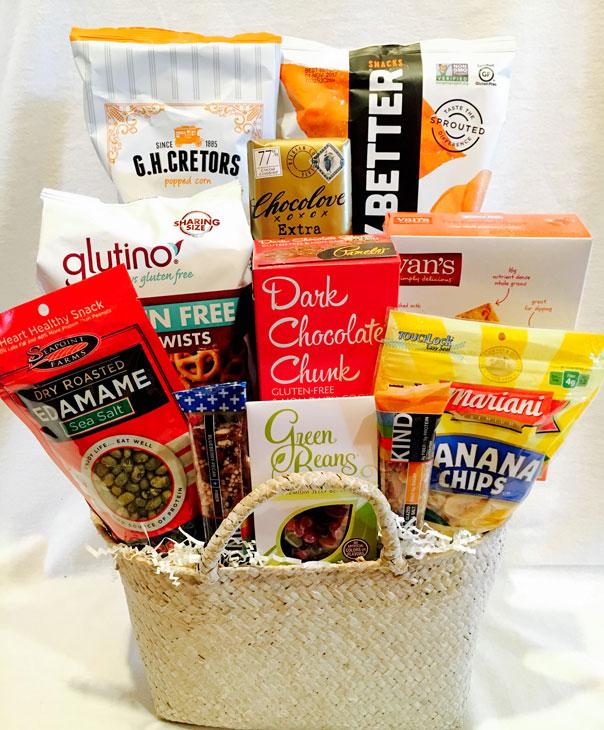 Gluten free deluxe 6500 pennys gift baskets gluten free deluxe gluten free gift basket negle Image collections