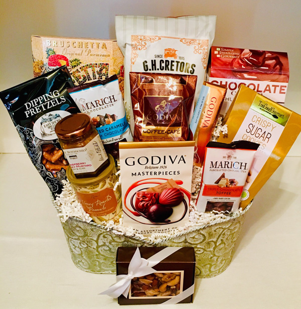 winter wonderland, christmas gift, christmas basket, holiday basket, holiday gift basket