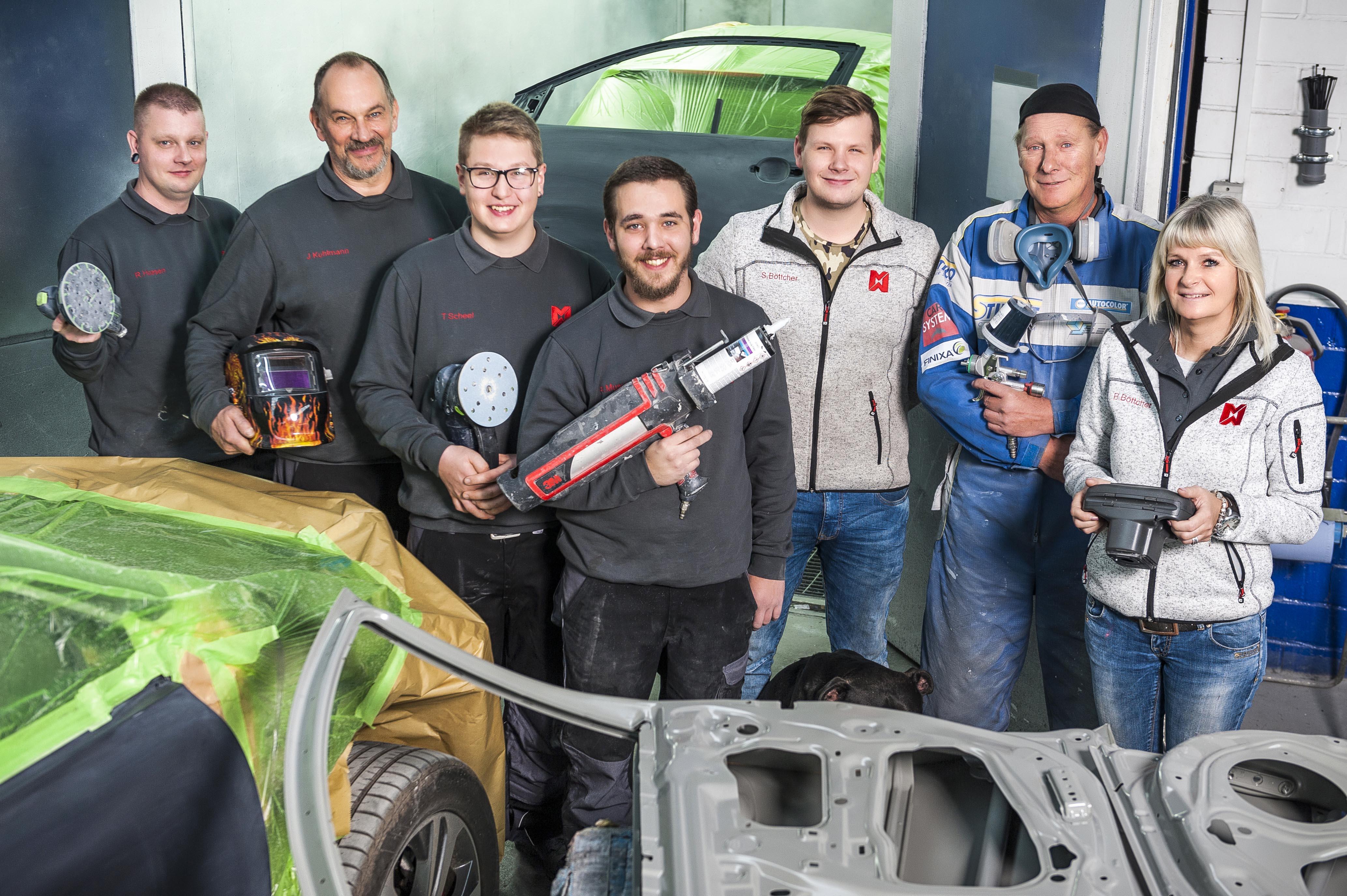 M&M Lackierungen GmbH | Team