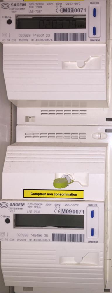 Carport photovoltaïque en autoconsommation