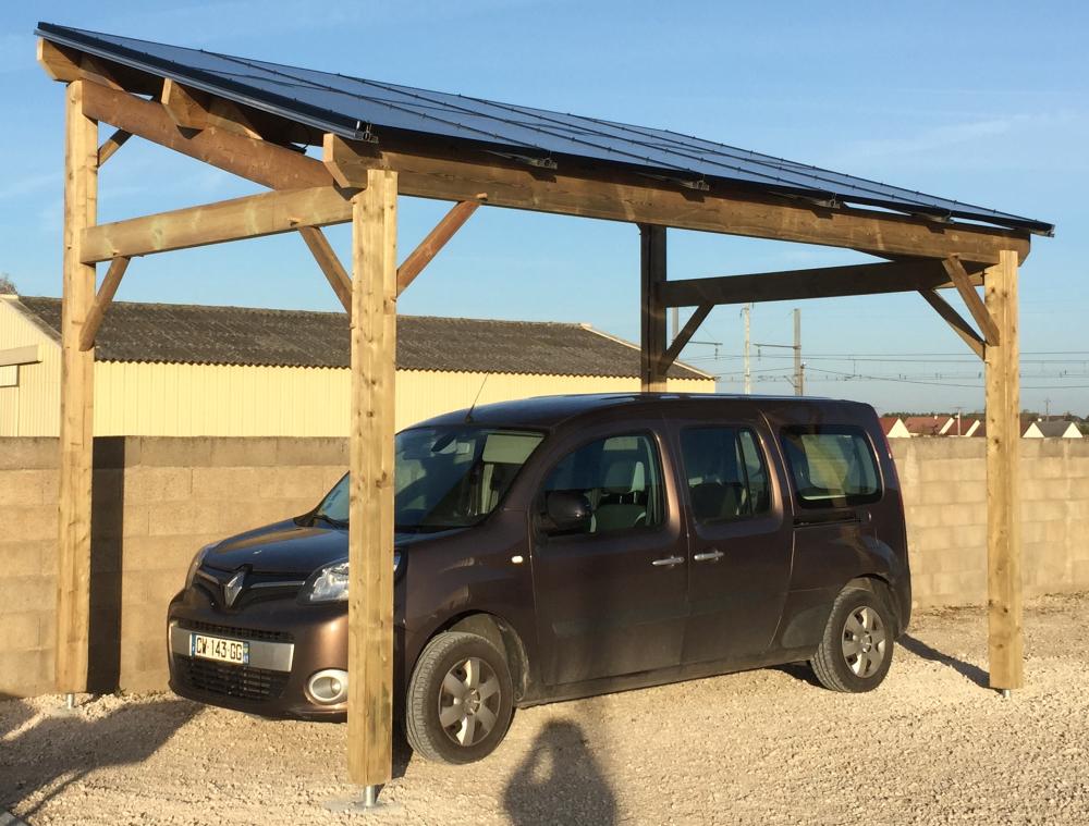 E-Carport photovoltaïque 6kw