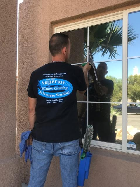 Danny has been cleaning windows and pressure washing in Las Vegas since 1979