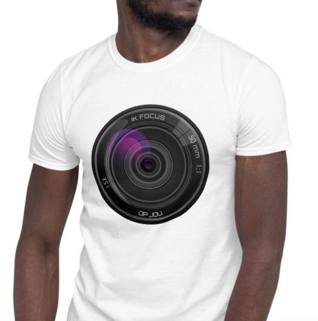Ik focus op jou - T-Shirt met korte mouwen, heren