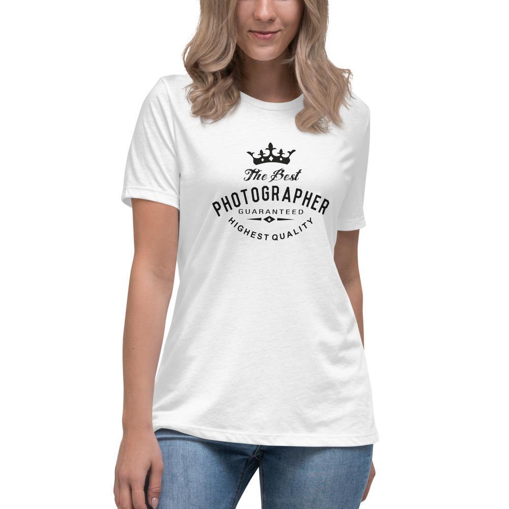 Best Photographer - T-shirt met korte mouwen, dames
