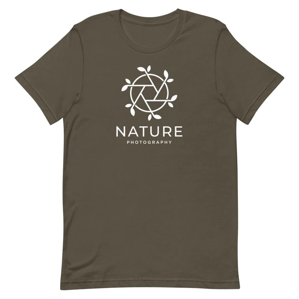 Nature Photography - T-shirt met korte mouwen, heren