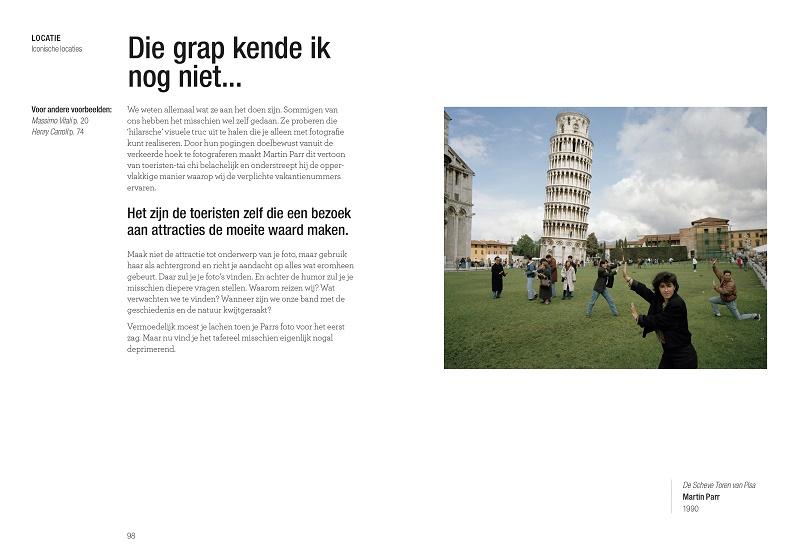 pagina uit het boek Lees dit als je topfoto's van plekken wilt maken van Henry Carroll