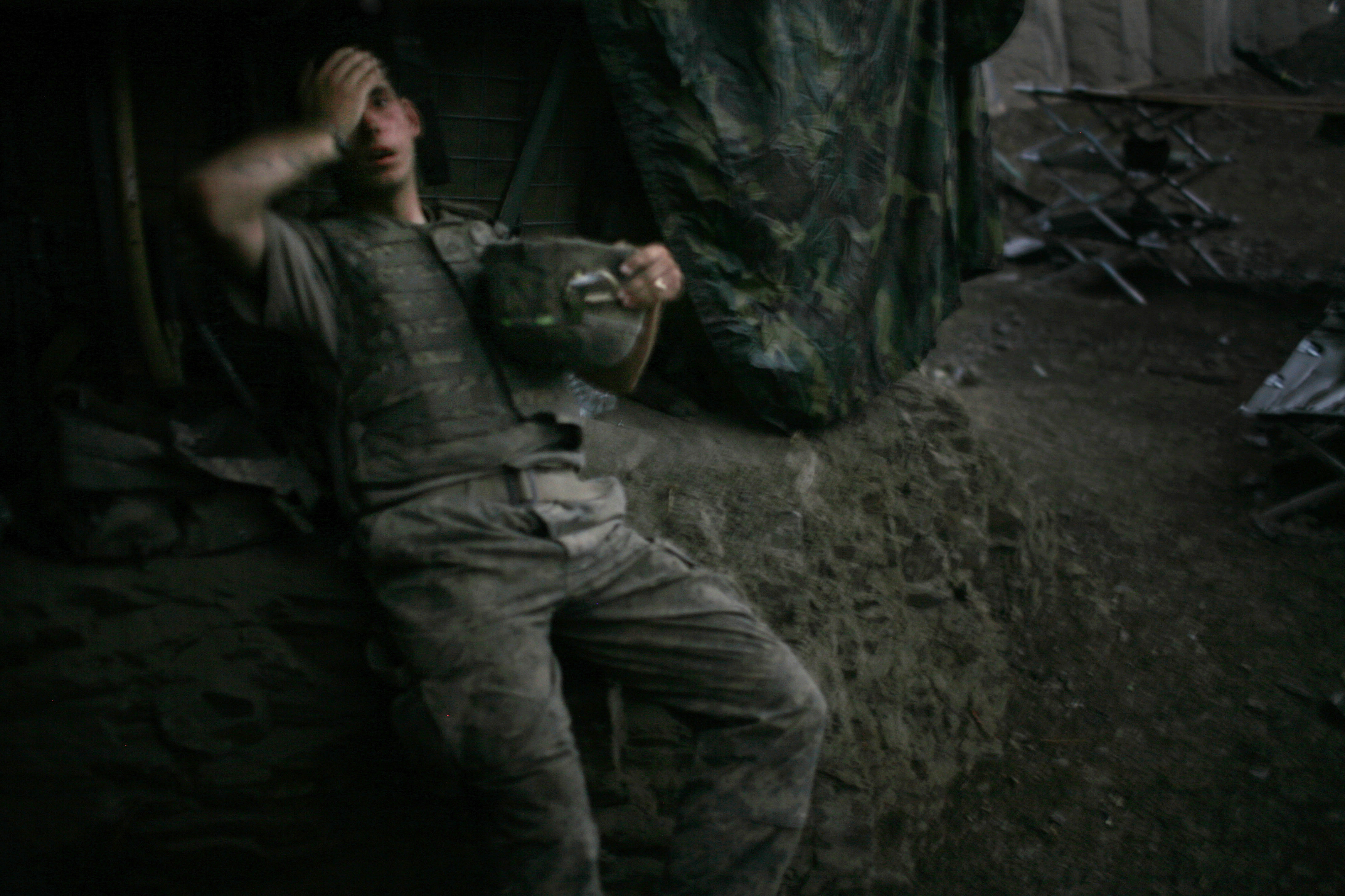 foto: Tim Hetherington, UK for Vanity FairWorld Press Photo 2007, Afghanistan 16 september 2007