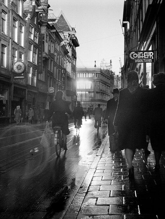 De Zwitserse Magnumfotograaf Werner Bischof