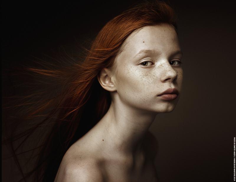 foto: © Dmitry Ageev, Russian Federation, portret van jong roodharig meisje