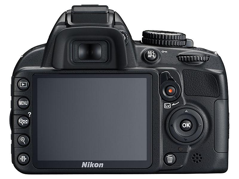 foto van achterkant Nikon D3100
