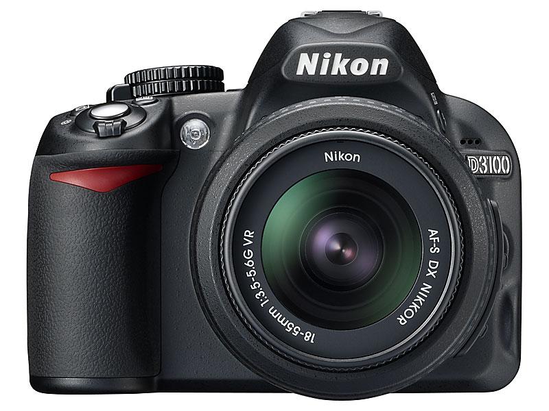 voorkant foto van Nikon D3100