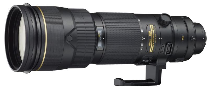foto van Nikon AF-S Nikkor 200-400mm f/4 G ED VRII