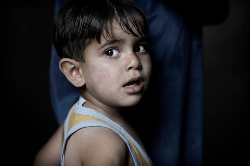 foto van Marielle van Uitert van jongetje in Libanon