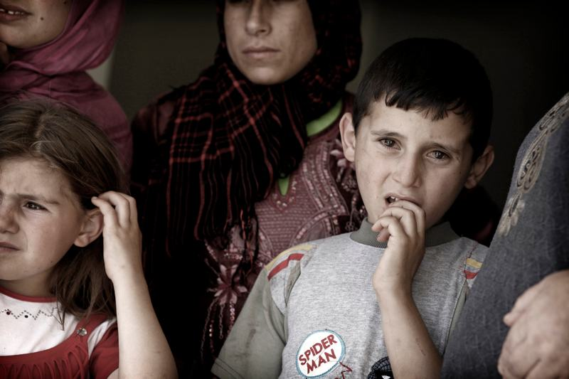 foto van Marielle van Uitert van familie in Libanon
