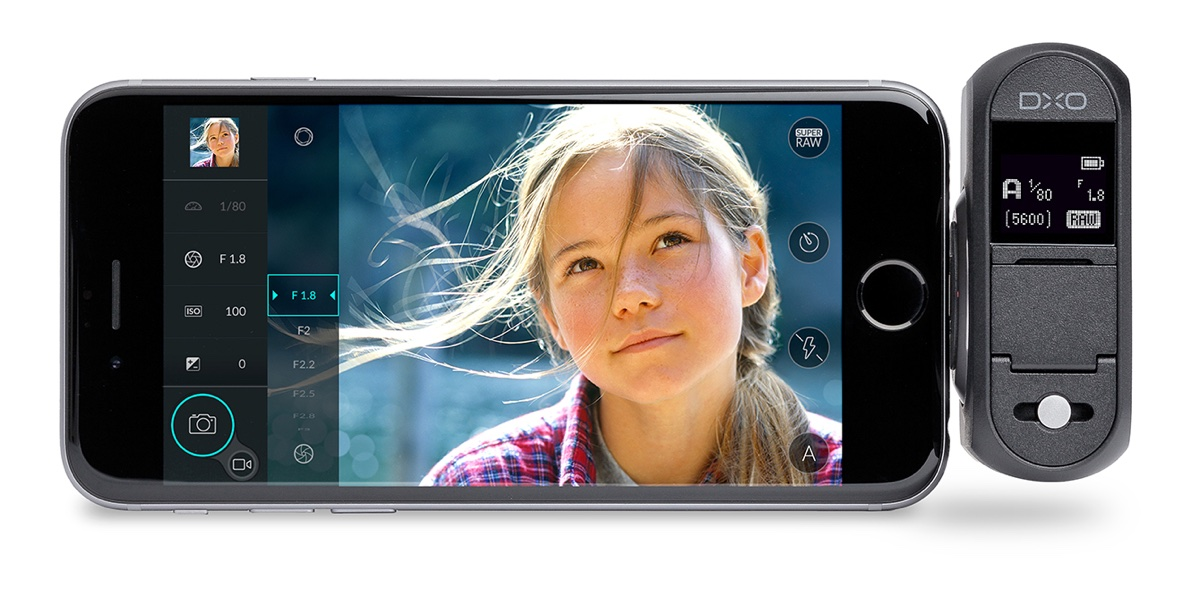 foto van iPhone met DxO One, 20 megapixel camera voor iPhone