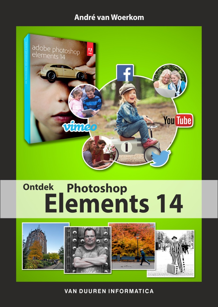 coverfoto van boek Ontdek Photoshop Elements 14