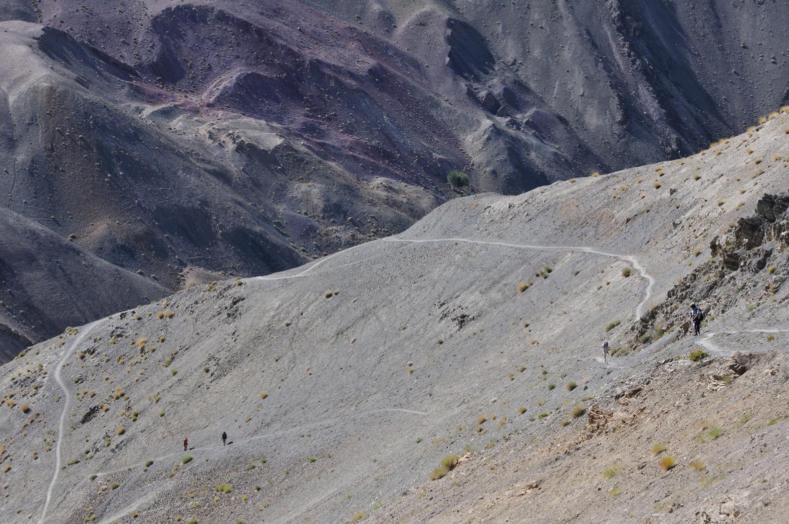 foto: © Tom van der Leij | Hiken door Westerse reizigers in Ladakh komen