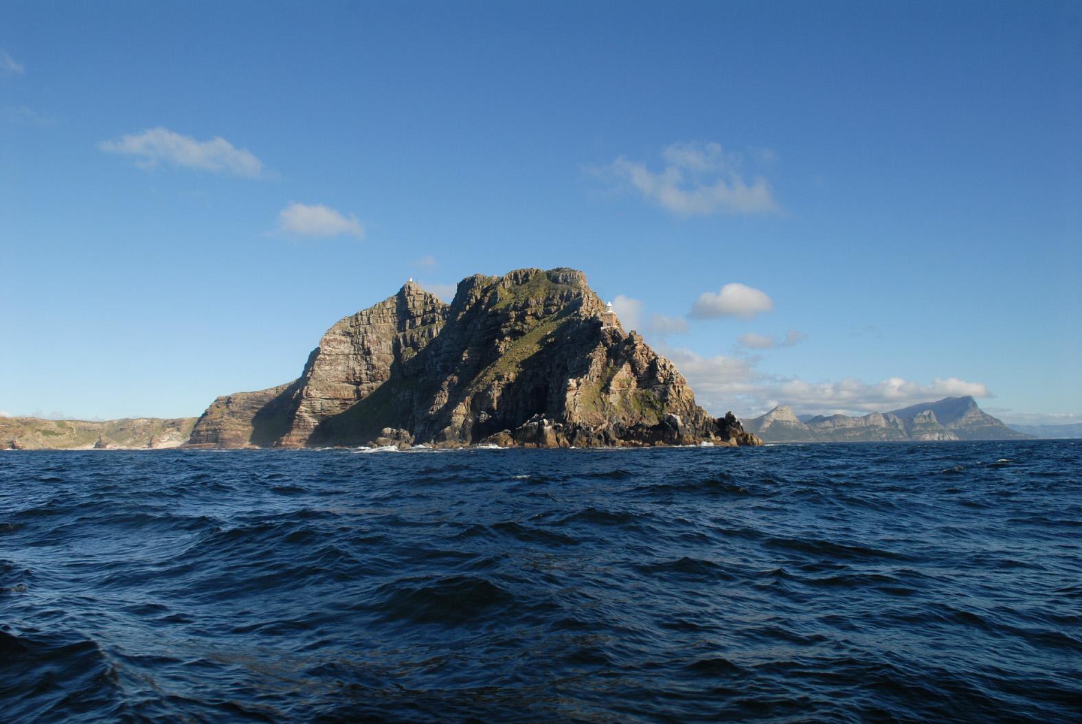 foto: Tom van der Leij | Kaap de Goede Hoop, foto vanaf zee
