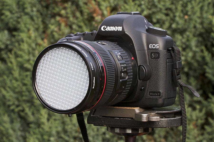 foto van Camera met Expodisc