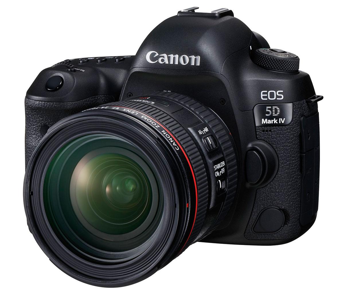 foto van Canon EOS 5D Mark IV