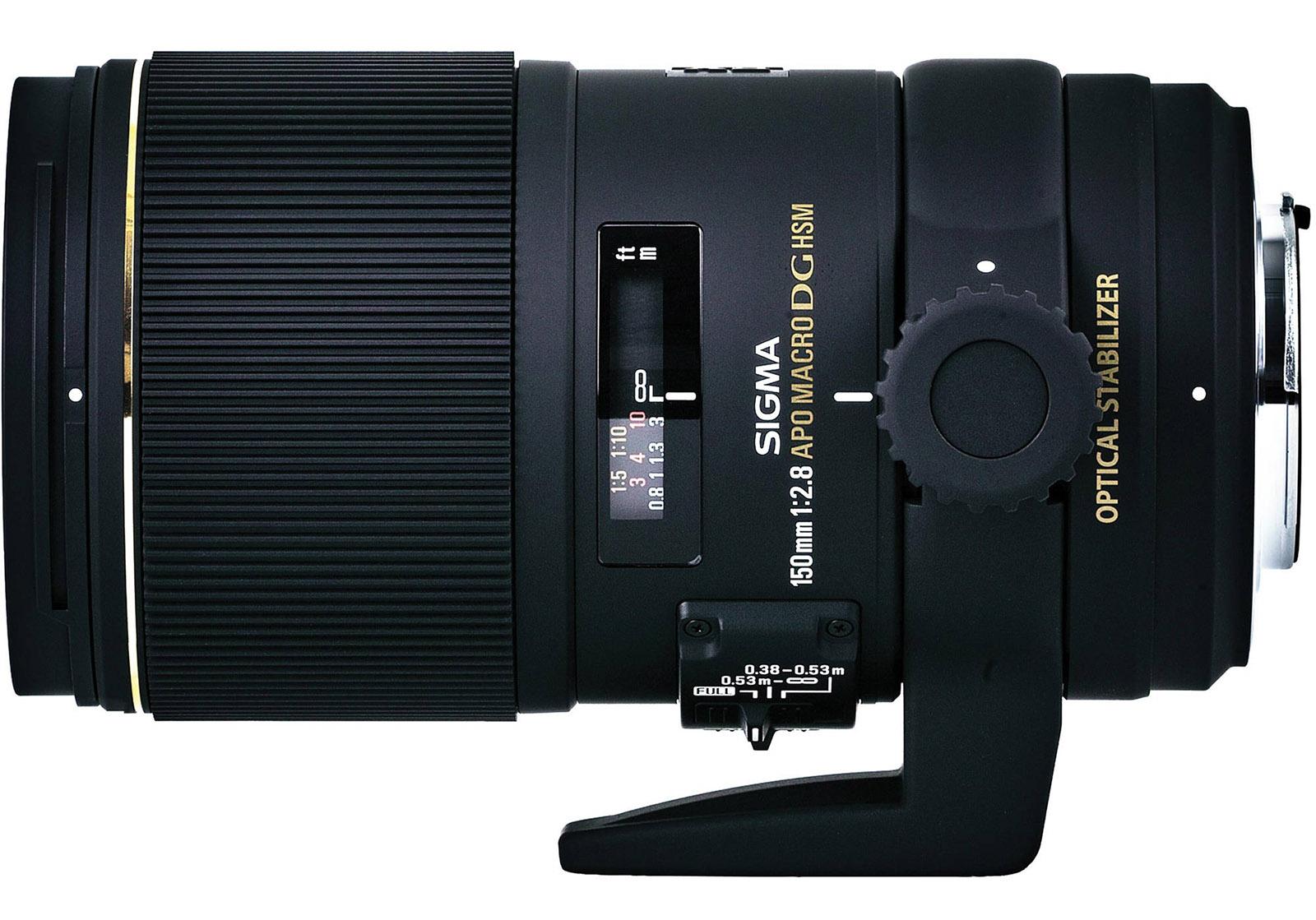 foto van De Sigma 2,8/150 mm Apo Macro lens