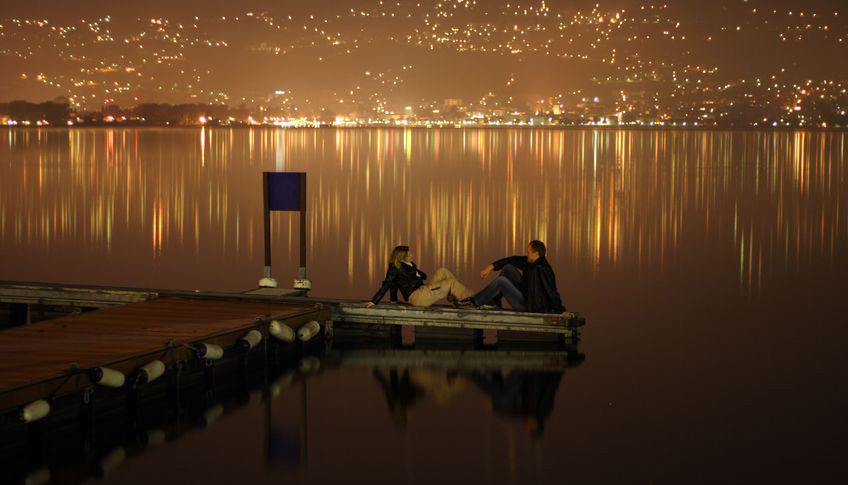 foto: Julia Britvich | Meeting at the midnight on the lake