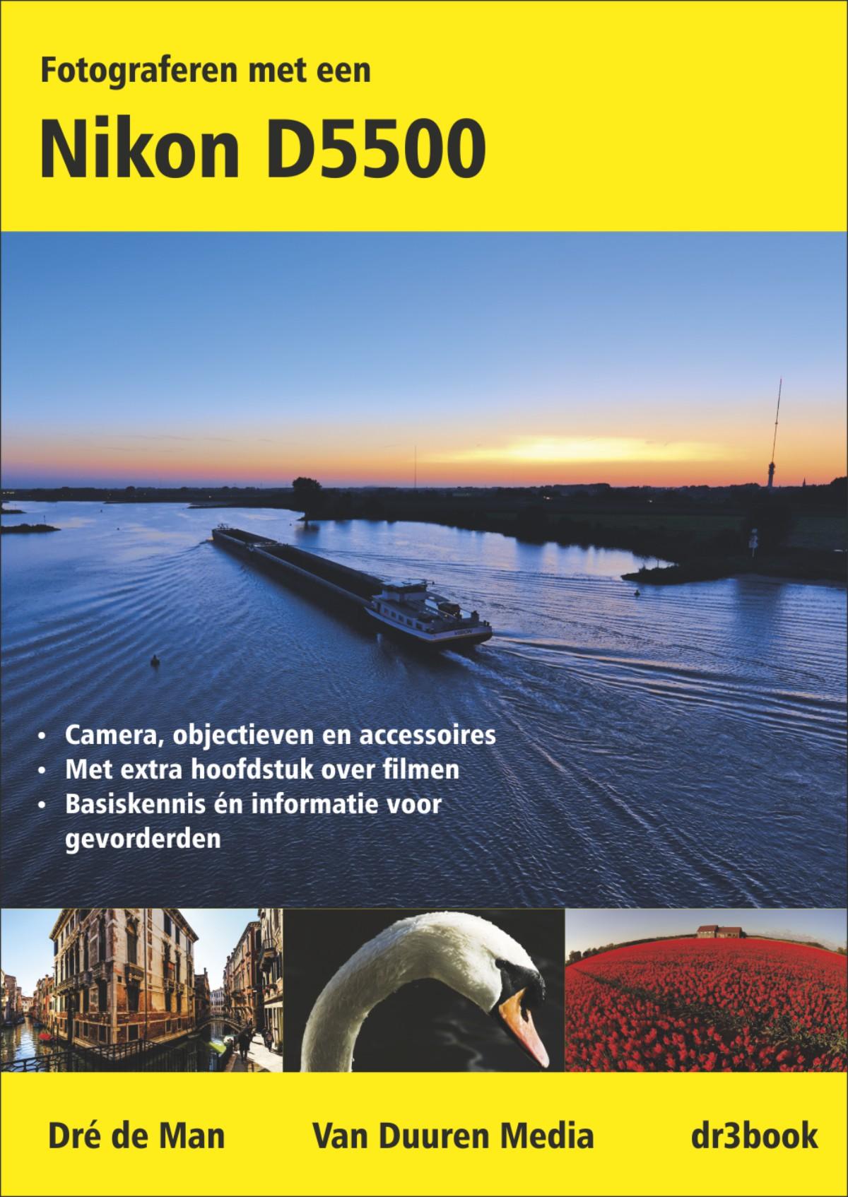 coverfoto boek Fotograferen met een Nikon D3300 & D3200- Dré de Man