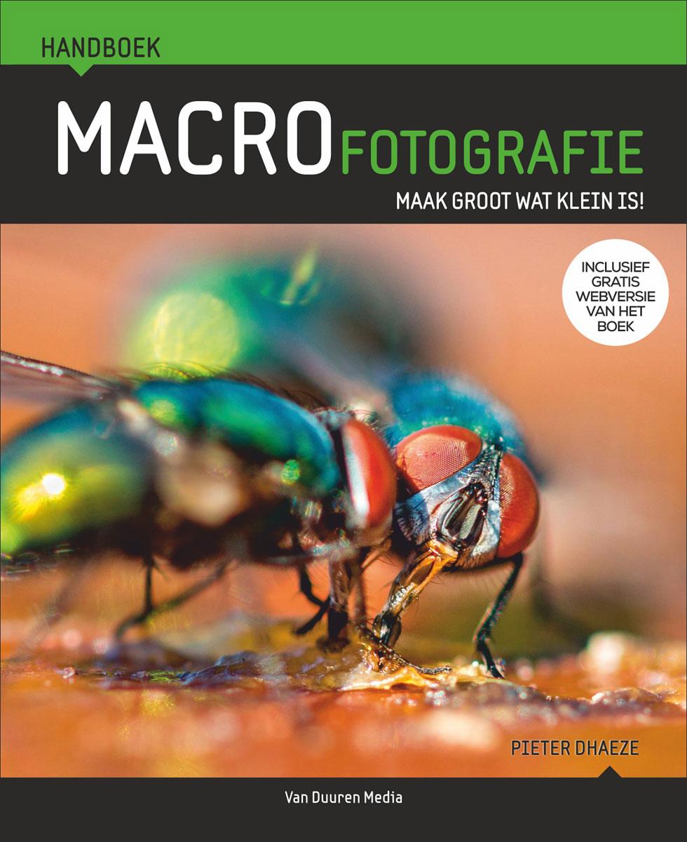 coverfoto Handboek Macrofotografie- Pieter Dhaeze