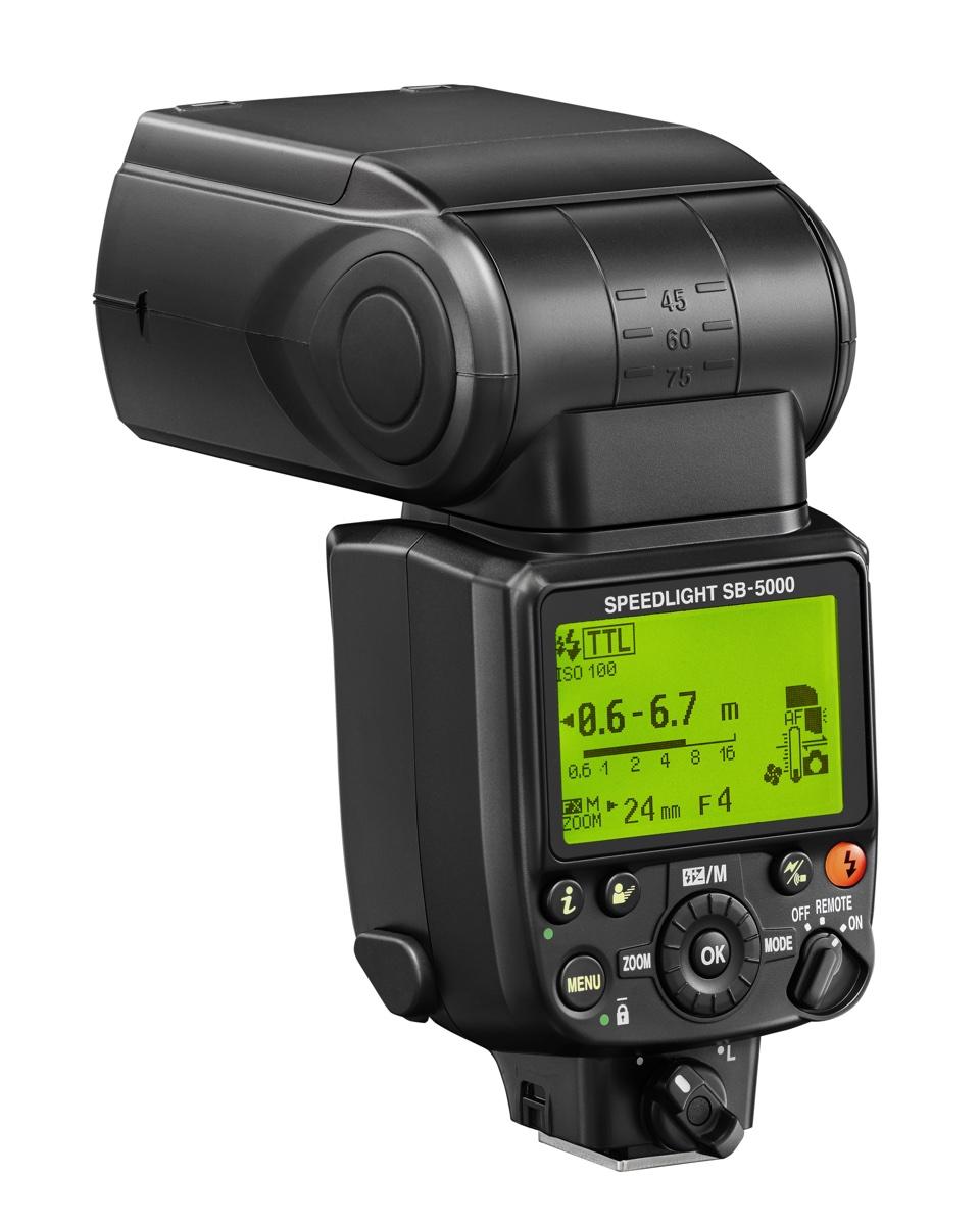 foto van Nikon SB-5000 Speedlight