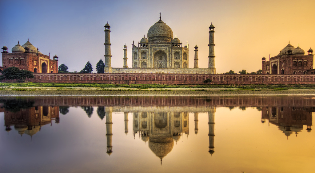 foto: Trey Ratcliff | Farewell India - The Taj Mahal (HDR opname)