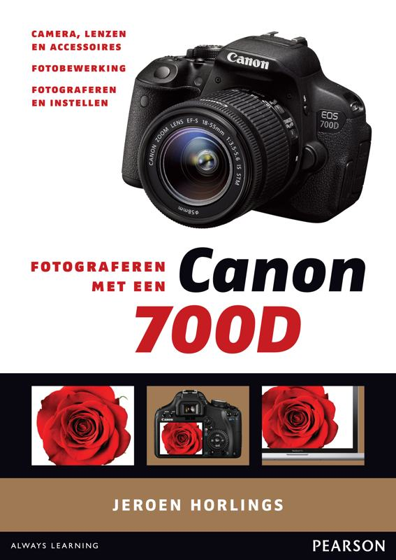 coverfoto Fotograferen met een Canon 700D- Jeroen Horlings, isbn 9789043029971