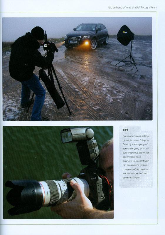 Fotoshoots organiseren en stylen- Peter Travers en Brett Harkness